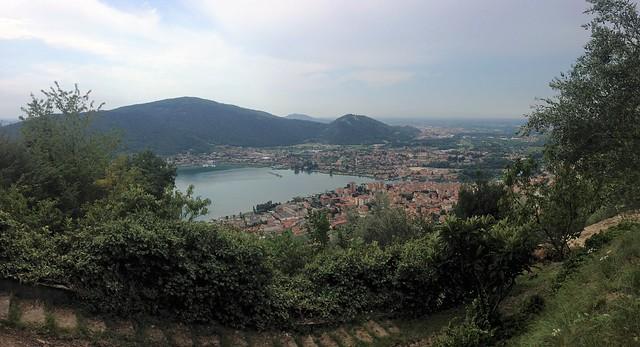 View of Sarnico, Italy