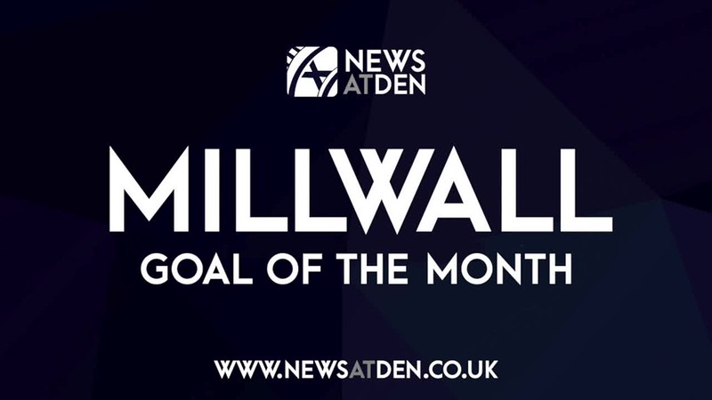 NewsAtDen Millwall Goal of the Month - September