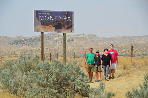Wyoming and Montana Border with Tammie and Jim | by Pierre Yeremian