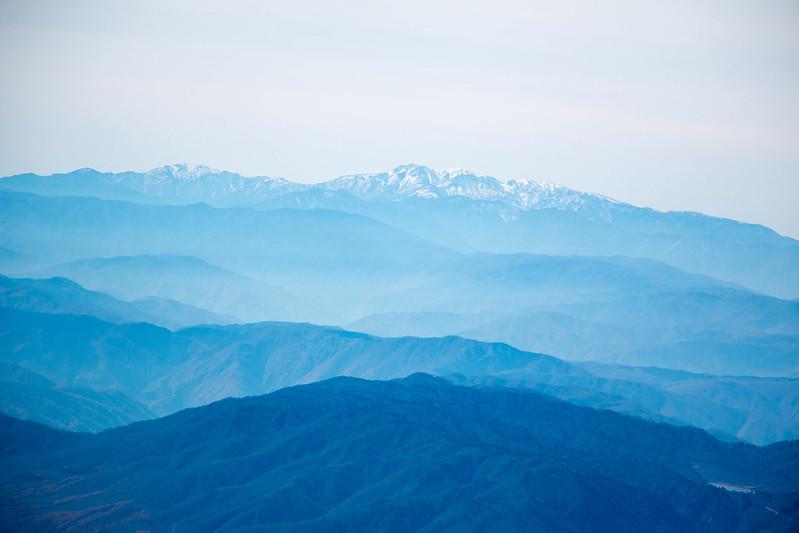 立山から白山