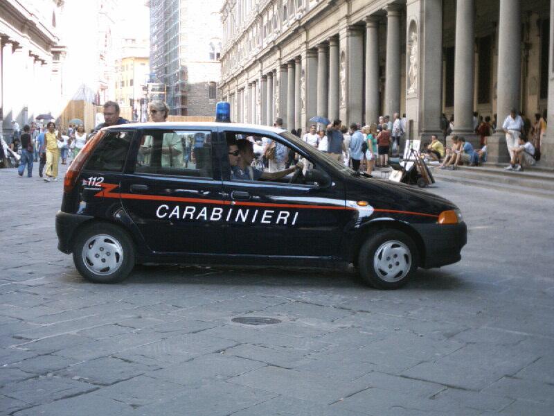 Fiat Punto 60S – Carabinieri – 1993