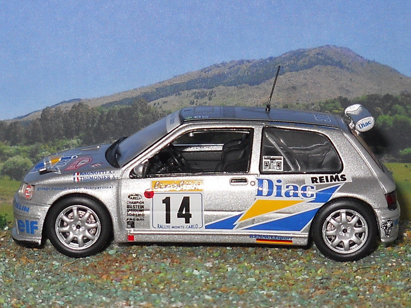 Renault Clio Maxi – Montecarlo 1995