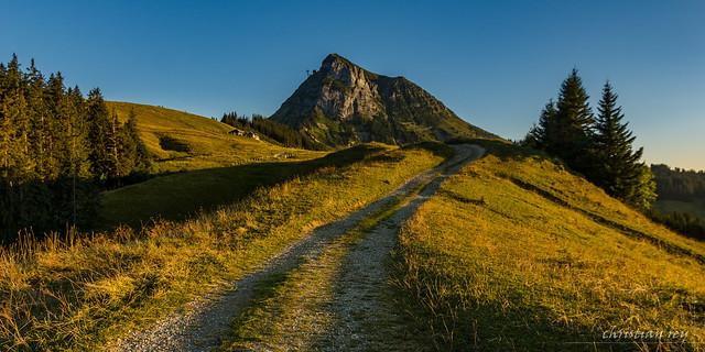 En chemin vers le Moléson (Switzerland)