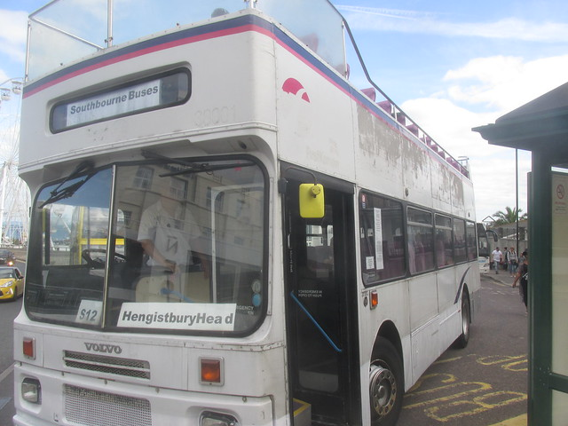 Southbourne Buses Volvo Citybus at Bournenouth Pier 12/8/17