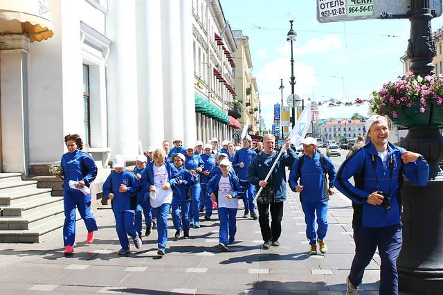 Russia-2017-06-22-Russian Ultramarathon Follows Path of Patriots