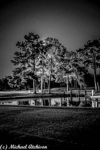 Golf Course at Night | by AtchisonGallery