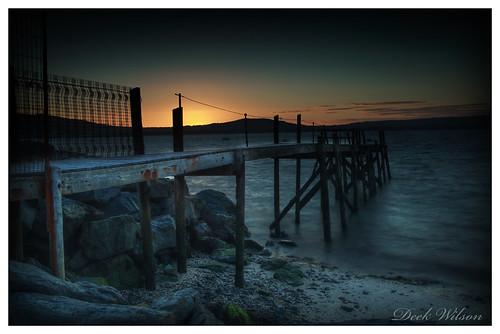 holywoodyachtclub holywood jetty woodenjetty belfastlough sunset northernireland landscape seascape canon7dmkii