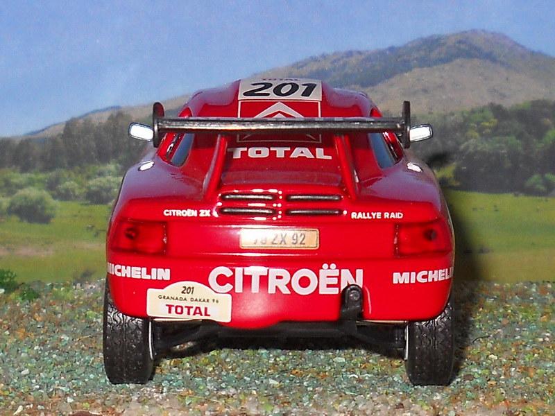Citroën ZX Rally Raid – Granada Dakar 1996