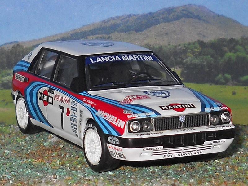 Lancia Delta HF Int - Montecarlo 1990