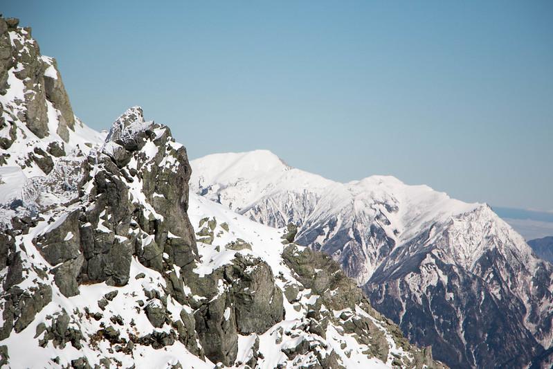 立山から白馬岳