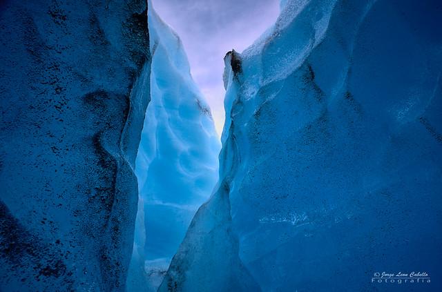 Grieta - Glaciar Exploradores (Patagonia Chile)