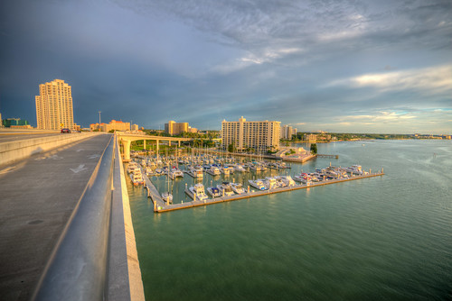 clearwater florida fl fla clearwaterflorida clearwaterfl sunset sun sky cloud hdr harbor marina boat clearwaterharbor clearwatermarina