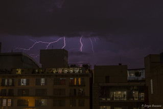 Lightning On Mexico City | by serbosca