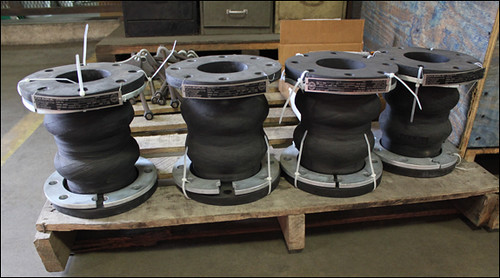 EPDM Rubber Expansion Joints for a Water Cooling Loop at a Chemical Plant in Saudi Arabia