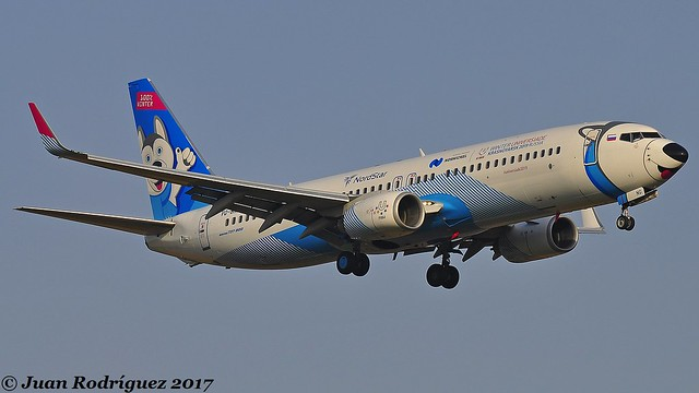 VQ-BNG - NordStar Airlines - Boeing 737-86J(WL) - PMI/LEPA
