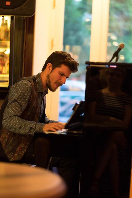 Marco Mezquida - Copenhagen Jazzfestival 2017 - Jesper Bodilsens Trio with Marco Mezquida at Cafe
