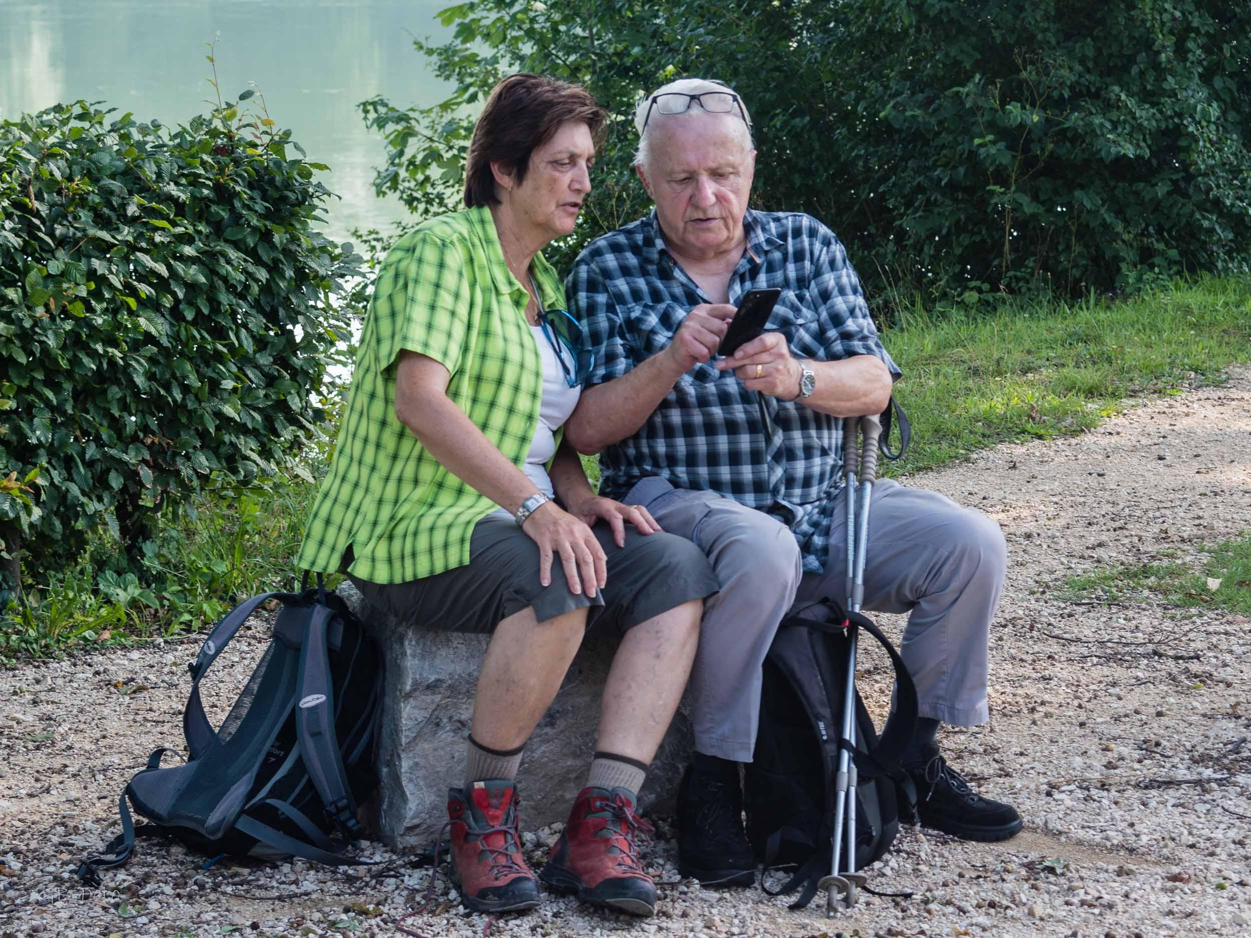 Seniorenwanderung Birsfelden - Kaiseraugst 03.08.2017