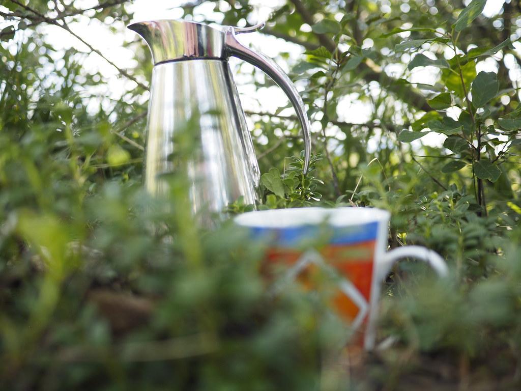 thermos tea cup summer picnic outdoor thermoskanne tas flickr. Black Bedroom Furniture Sets. Home Design Ideas