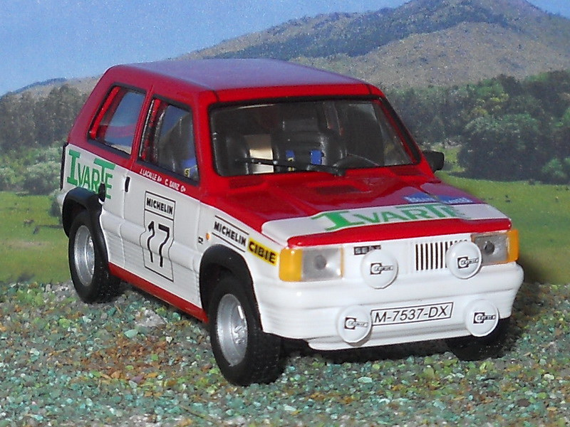 Seat Panda Grupo 2 – Rally Talavera 1982