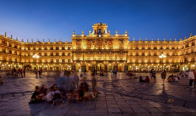 Plaza Mayor / Salamanca / Spain 2016