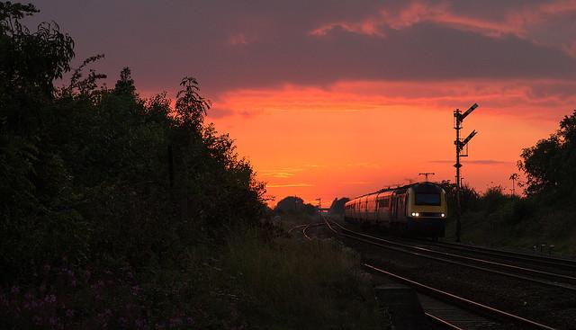 Semaphore Sunset