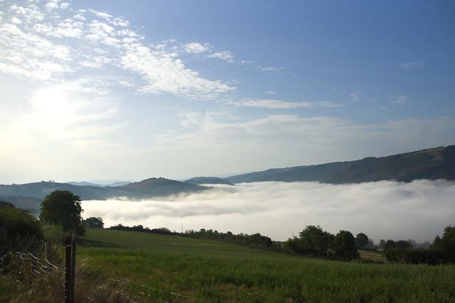 A Connac au dessus de la vallée du Tarn