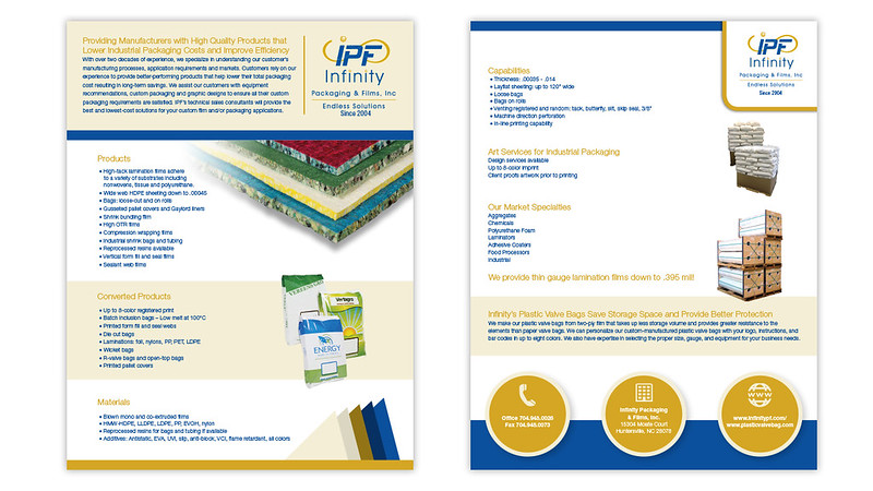 Infinity One Sheet Brochure