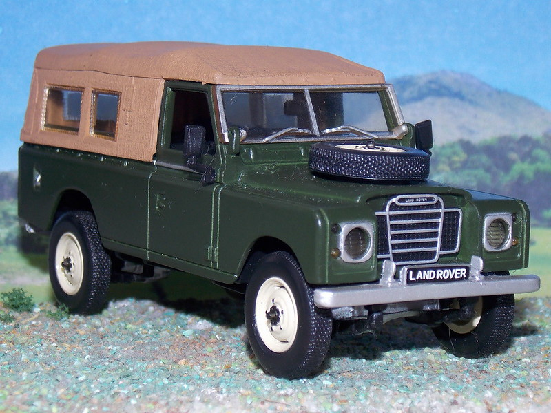 Land Rover Series III – Soft Top – 1971