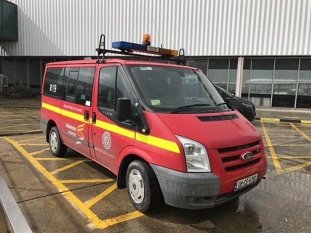 Rescue One Nine - Airport Police Fire Service - Shannon, Ireland.