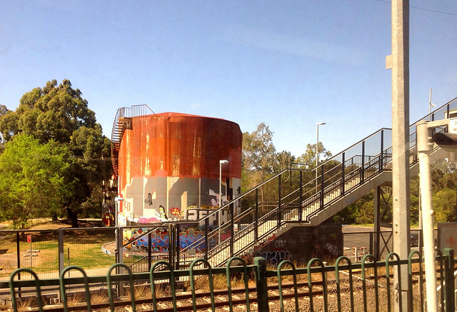Derilict Storage Tank