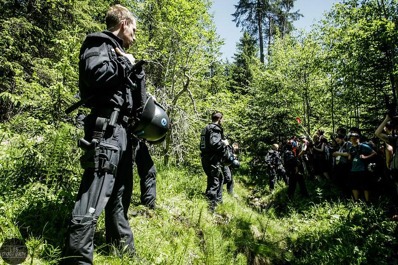 Sternmarsch - A hike to the bog fence around Schloss Elmau
