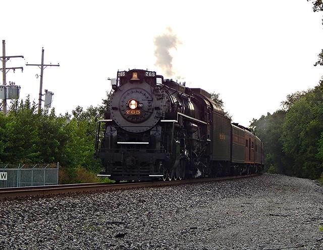 NKP 765 at Wabash Indiana