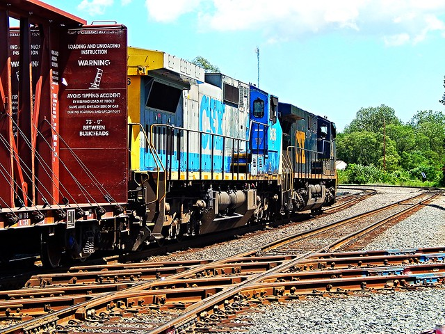 CSX at Griffith Indiana