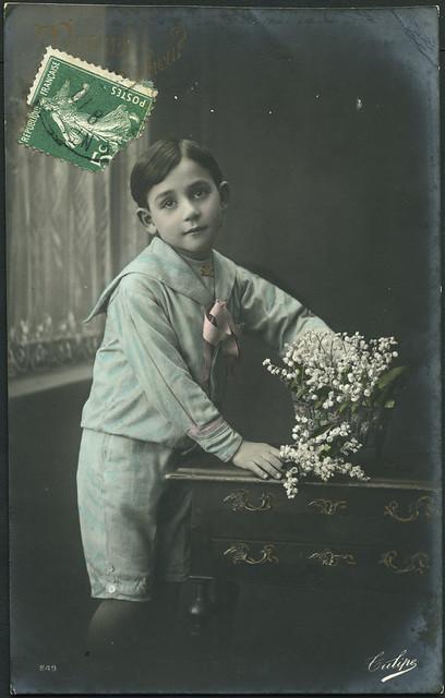 Archiv B017 Muget du bonheur, France 1910er