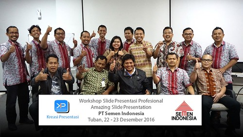 Workshop Amazing Slide Presentation Semen Indonesia 22-23 Des 2016 | by dhonyfirmansyah