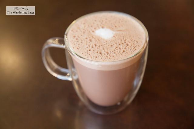 House made hot chocolate