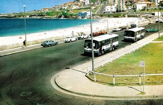 UTA buses standing over at Bondi Beach in Sydney NSW | by davemail66