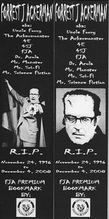Forrest J. Ackerman Bookmarks