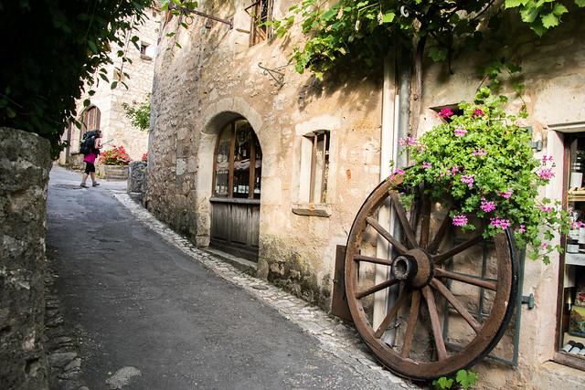 Ruelle à Saint-Cirq-Lapopie