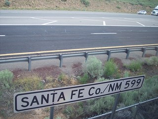 Santa Fe Co - NM 599 | by roadandrailpictures