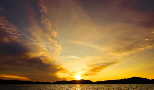 tamron16300mm hamiltoncounty inletnewyork inletny centraladirondacks sunset sunsetbeach clouds