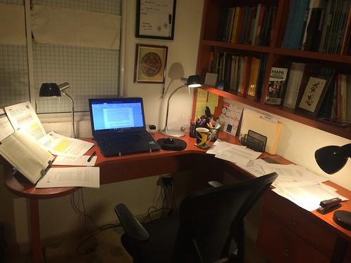 Writing setup at home