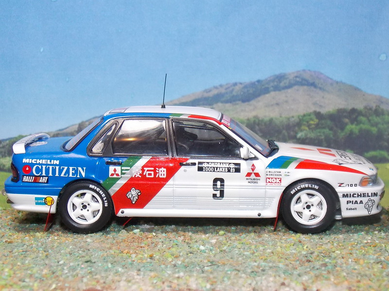 Mitsubishi Galant VR4 – Finlandia 1989