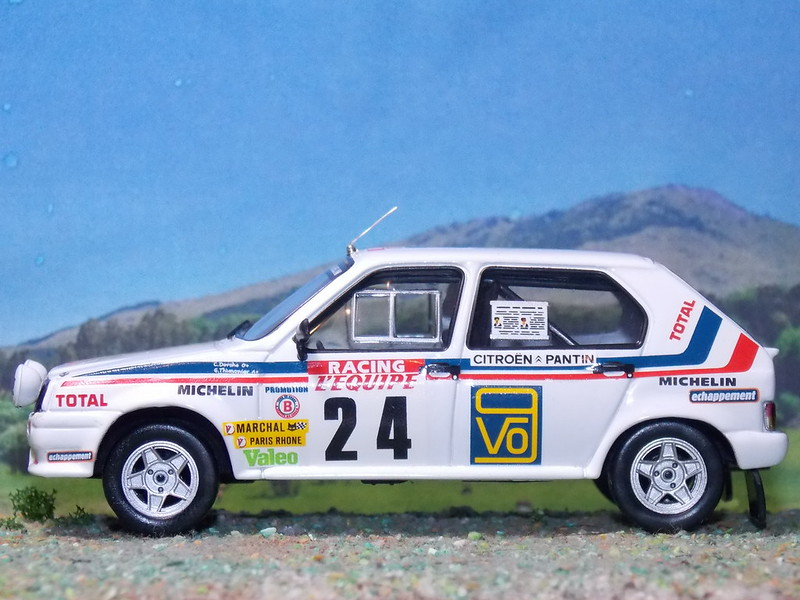 Citroën Visa Chrono – Córcega 1983