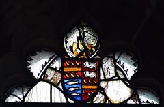 reset 15th Century heraldic shield