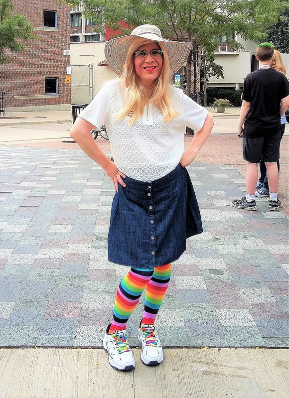 Pride parade outfit
