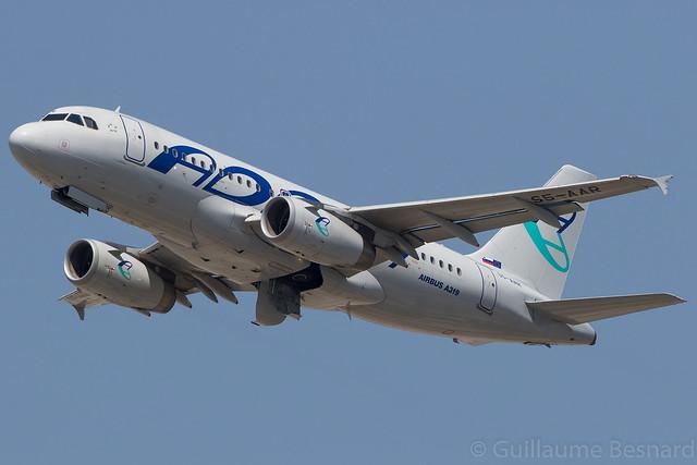 Airbus A319 Adria Airways S5-AAR MSN 4301