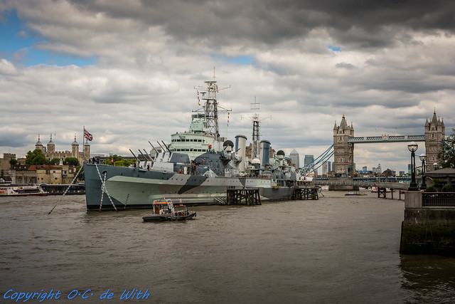 London HMS Belfast (C35)-6476