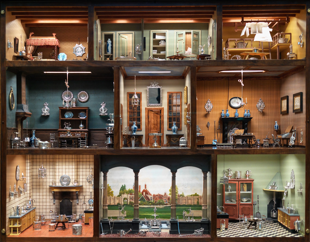 Inside the doll's house | 1700's Dutch doll house at the MFA… | Flickr