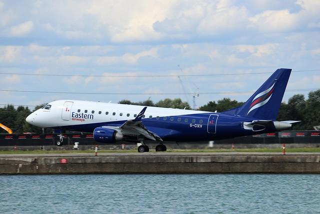 G-CIXV Embraer ERJ-170 Eastern Airways
